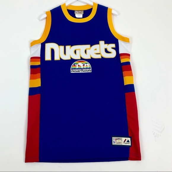 quality design d9fbf f500f Classic Vintage Denver Nuggets Jersey AND Snapback